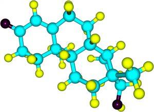 Testolone molecular example