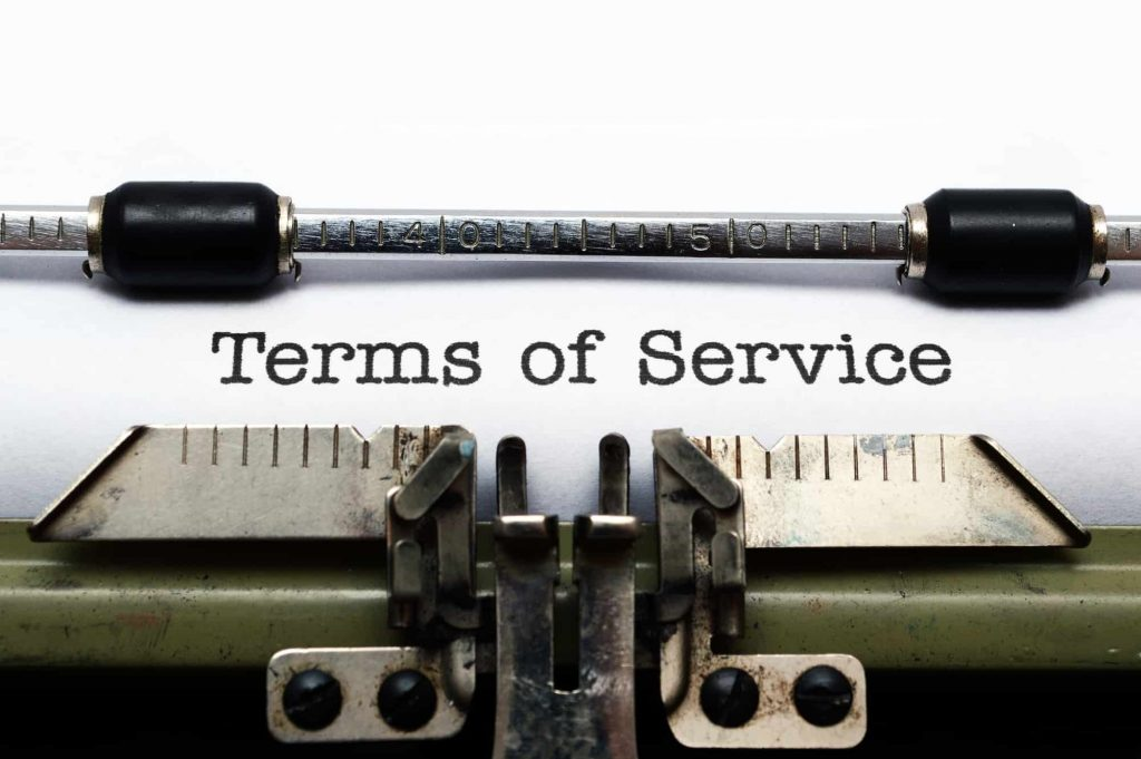 Psmf Diet terms of service