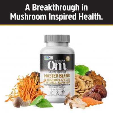 OM mushroom master blend